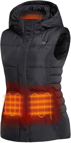 7. ORORO Women's Heated Vest (Battery Included)