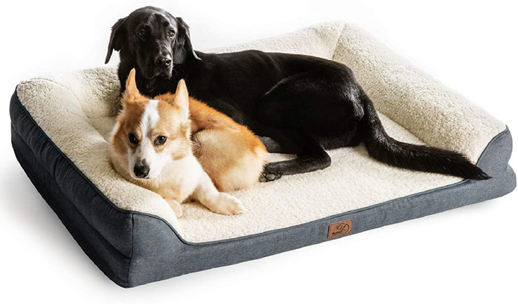 9. Bedsure Orthopedic Memory Foam Dog Bed