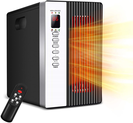 10. Air Choice Infrared Energy Efficient Space Heater