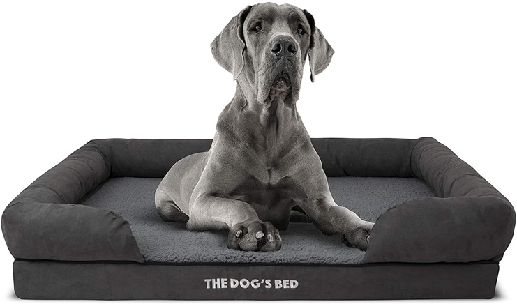 10. The Dog's Bed Orthopedic Dog Bed
