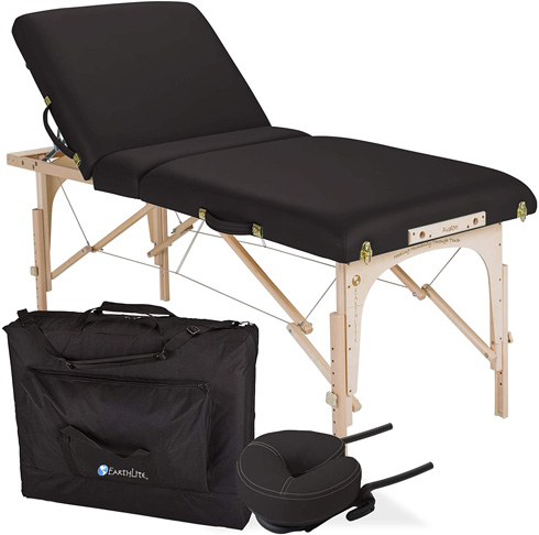 7. EARTHLITE AVALON Portable Massage Table Package -Preferred