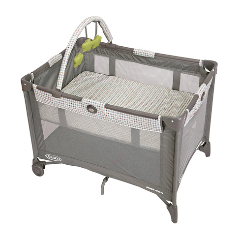 2. Graco Pasadena Pack and Play On the Go Playard -Preferred