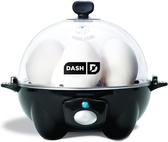 1. DASH black Rapid 6 Capacity Electric Cooker, One Size -Preferred