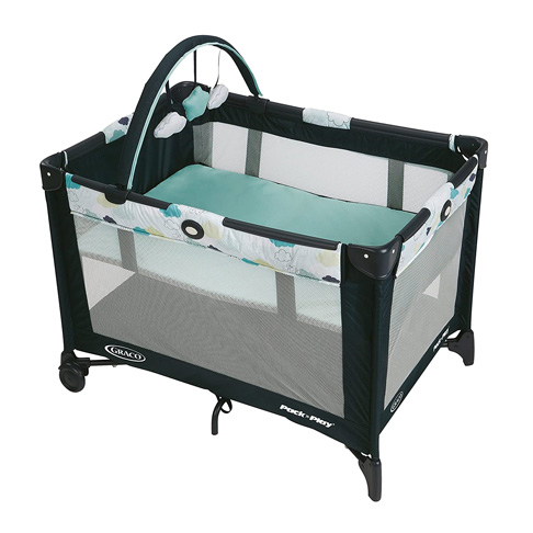 4. Graco Stratus Pack and Play On the Go Playard -Preferred