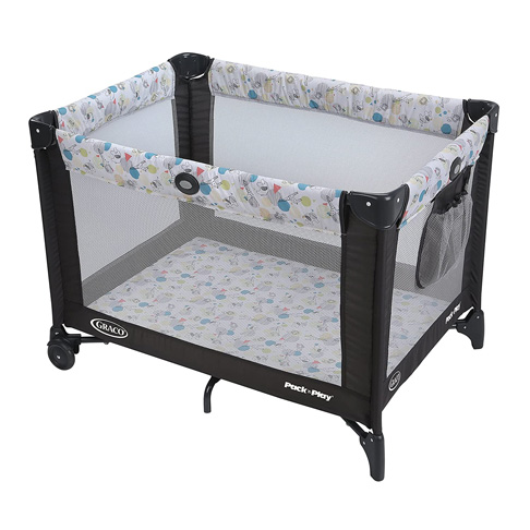 1. Graco Carnival Pack and Play Portable Playard -Preferred
