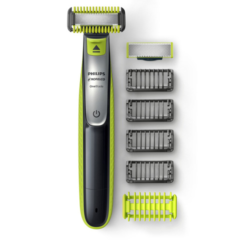 1. Philips Norelco Face + Body Electric Trimmer, QP2630/70 -Preferred
