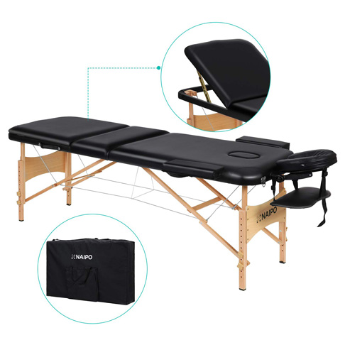 9. Naipo Portable Professional Massage Table