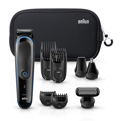 4. Braun 9-in-1 Hair Clippers for Men, MGK3980