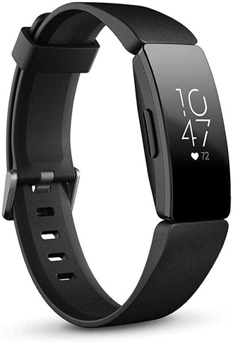3. Fitbit Inspire Heart Rate and Fitness Tracker, One Size