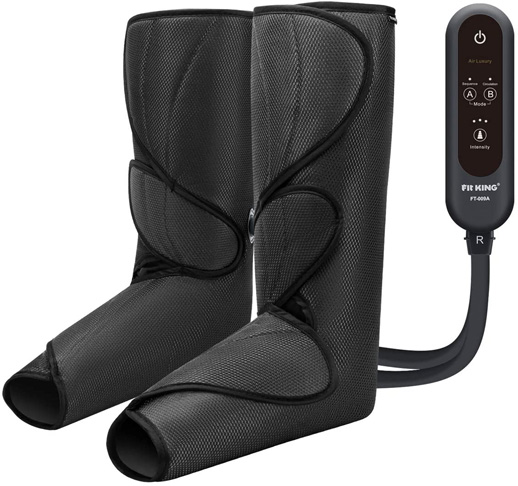 1. FIT KING Leg Air Massager for Circulation -Preferred