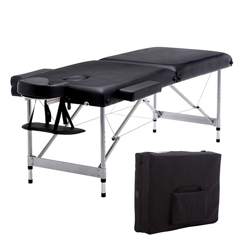 8. Artechworks Lightweight Massage Table (Black)