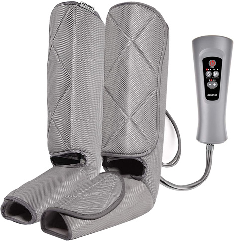 3. RENPHO Leg Massager for Circulation and Relaxation