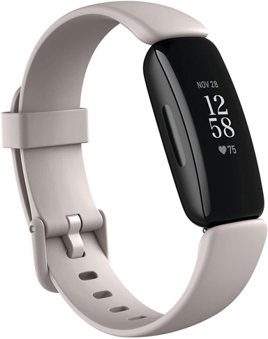 10. Fitbit Inspire 2 Health & Fitness Tracker with, Black/White -Preferred