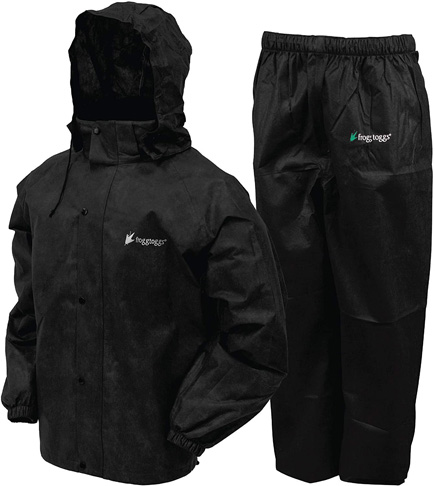 1. FROGG TOGGS mens Classic All-sport Rain Suit