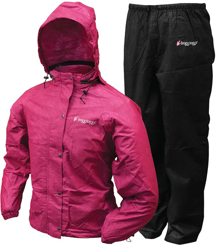 2. FROGG TOGGS Women's Classic Rain Suit