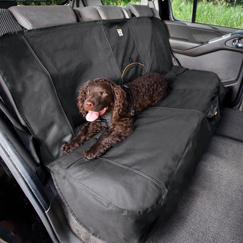 9. Kurgo Dog Seat Cover -Contains Seat Anchors