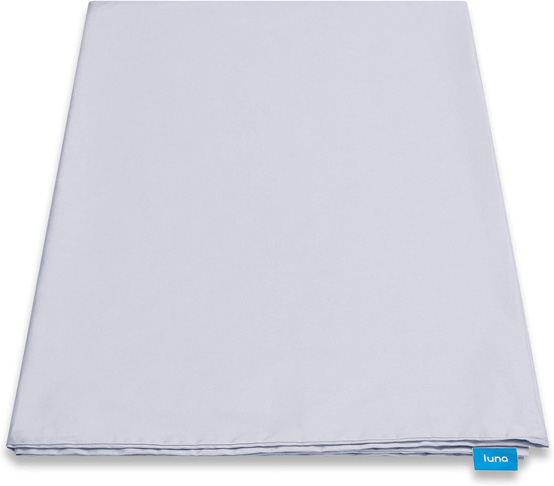 2. Luna Removable Duvet Cover for Weighted Blanket