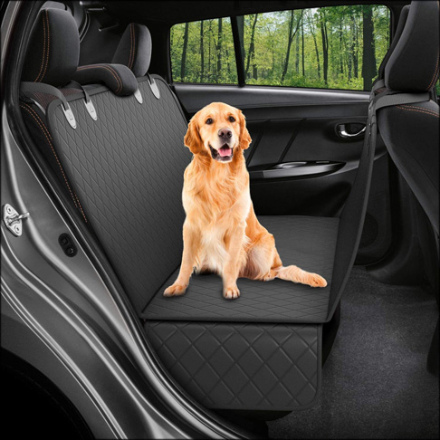 1. Active Hammock Pets Dog Back Seat Cover -Preferred