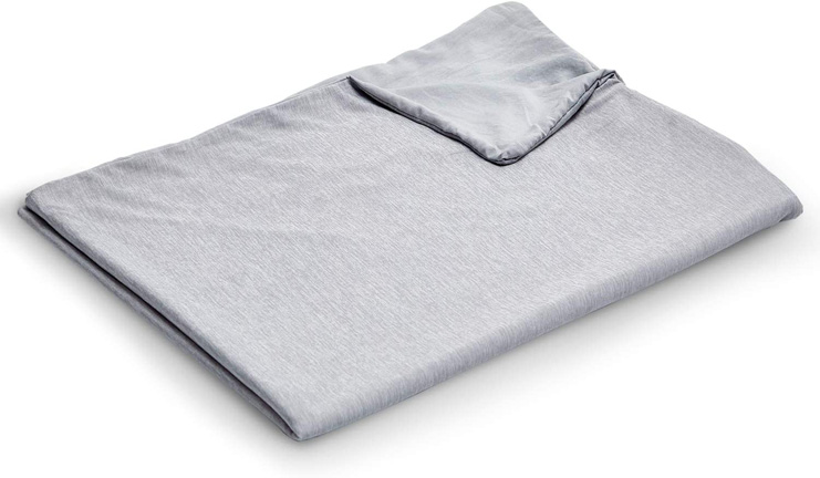 10. EXQ Home Weighted Blanket Cover 48x72
