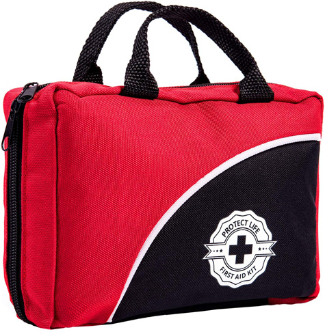 2. Protect Life 160 Piece First Aid Kit with Medical Supplies - Preferred