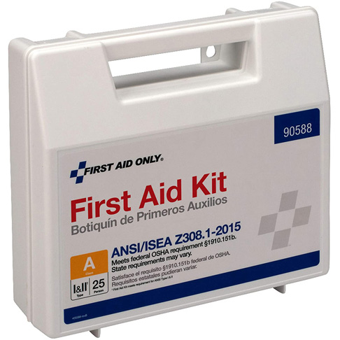 7. First Aid Only 90588 25 Person First Aid Kit