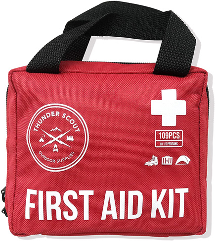 6. Thunder Scout 109 Piece First Aid Kit