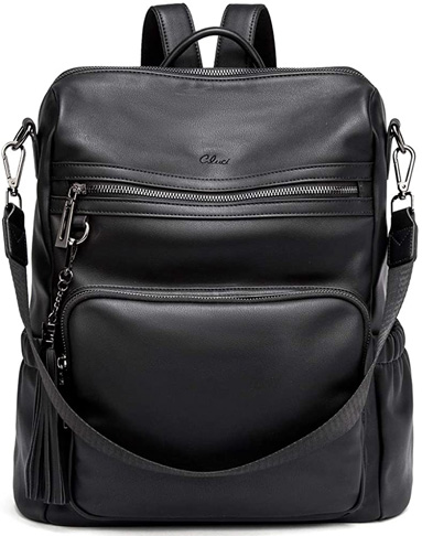 3. CLUCI Backpack Purse for Women