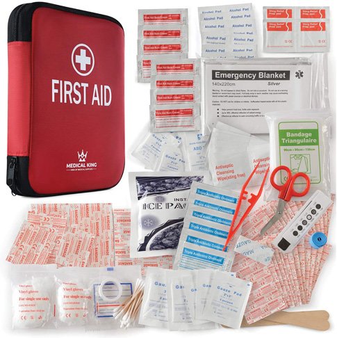 8. Medical King 360 pcs All-Purpose First aid kit - Preferred