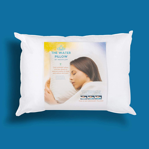 1. Mediflow Fiber: The First & Original Water Pillow to Reduce Neck Pain