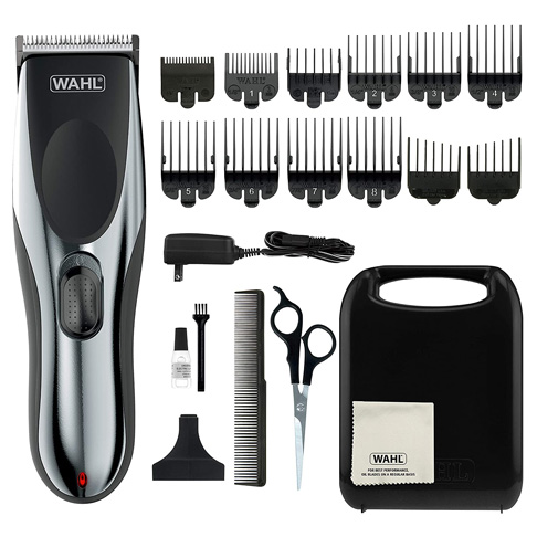 4. WAHL 79434 Rechargeable Haircutting Kit -Preferred