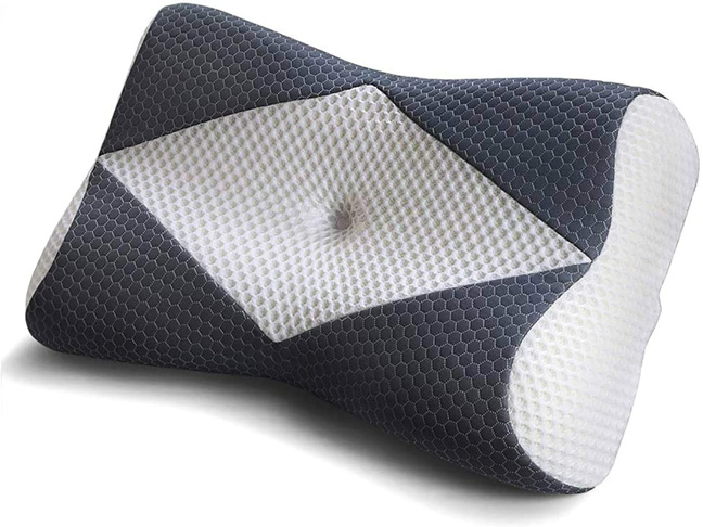 3. Mkicesky Memory Foam Pillow for Sleeping
