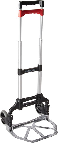 1. Magna Cart Personal Folding Hand Truck (Black/Red) -Preferred