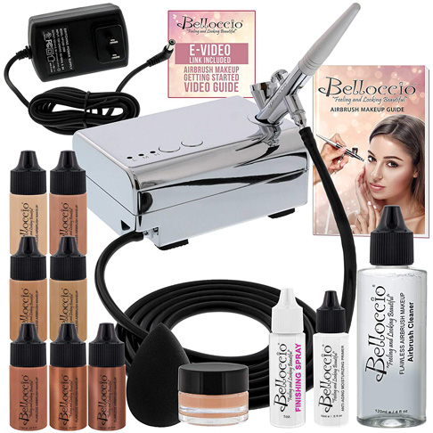 9. Belloccio Professional Beauty Airbrush Cosmetic Makeup System