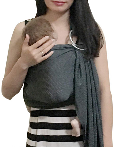 6. Vlokup Baby Water Ring Sling Carrier