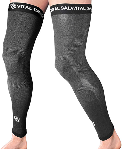 3. Vital Salveo-Recovery Sports Full Leg Sleeve - Preferred