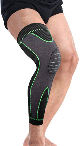 2. Bufccy Full Leg Compression Sleeve for Women Men