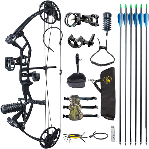 8. TOPOINT ARCHERY M2 Youth Compound Bow Set Beginners