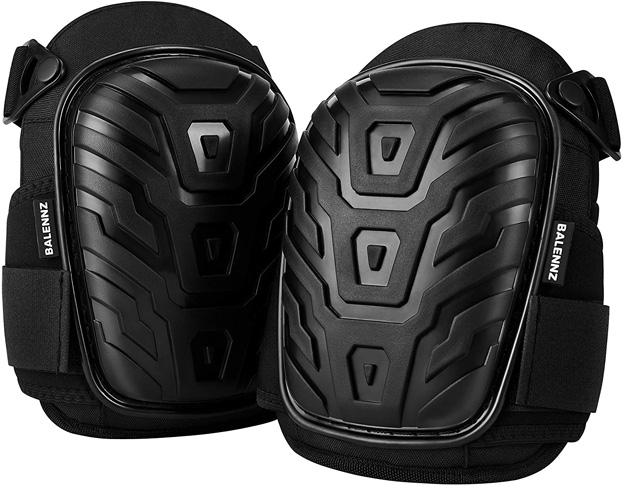 3. BALENNZ Professional Knee Pads for Work (Knee High)