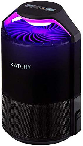 1. Katchy Indoor Fly Trap for Mosquito, Gnat, Moth, Fruit Flies