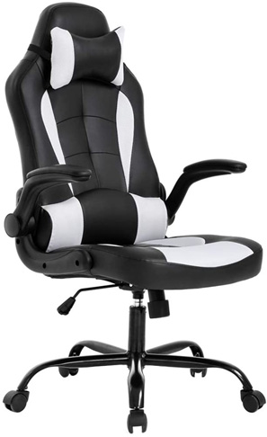 1. BestOffice PC Gaming Chair with Lumbar Support