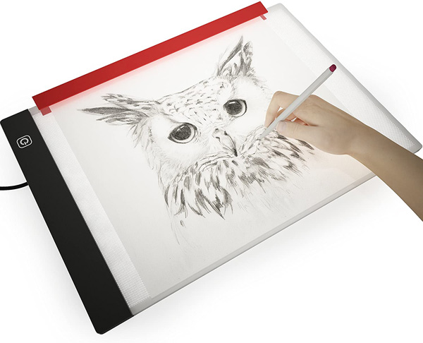 4. Picture/Perfect Light Box for Tracing, A4 9x13 Inch