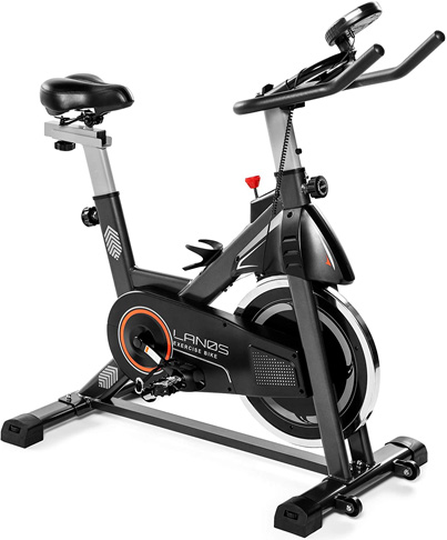 6. Lanos Exercise Bike for Indoor Cycling