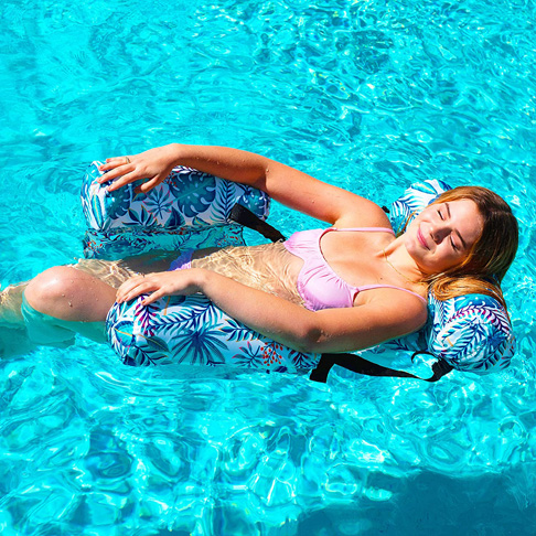 10. Sloosh Floating Pool Water Chair for Adult