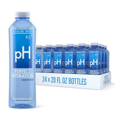 7. Perfect Hydration 9.5+ Electrolyte 24 Bottles Drinking Water