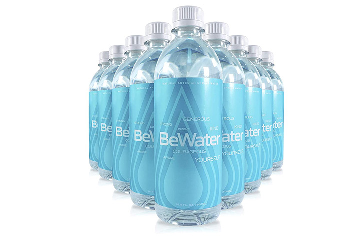 8. BeWater Case of 24 Artesian Naturally Flowing