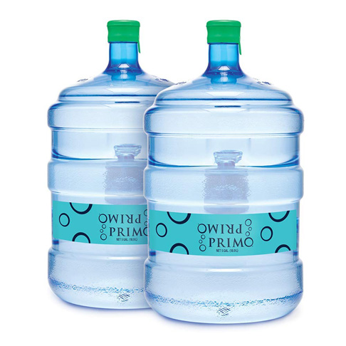 9. Primo Purified Water with Minerals (2 Bottles)